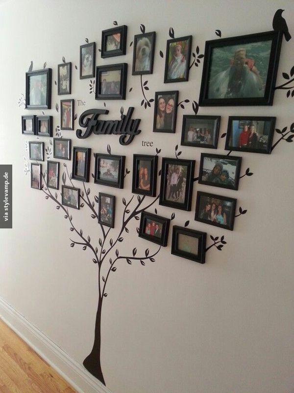 Ahnenforschung - immer an der Wand entlang!   For the Home ...