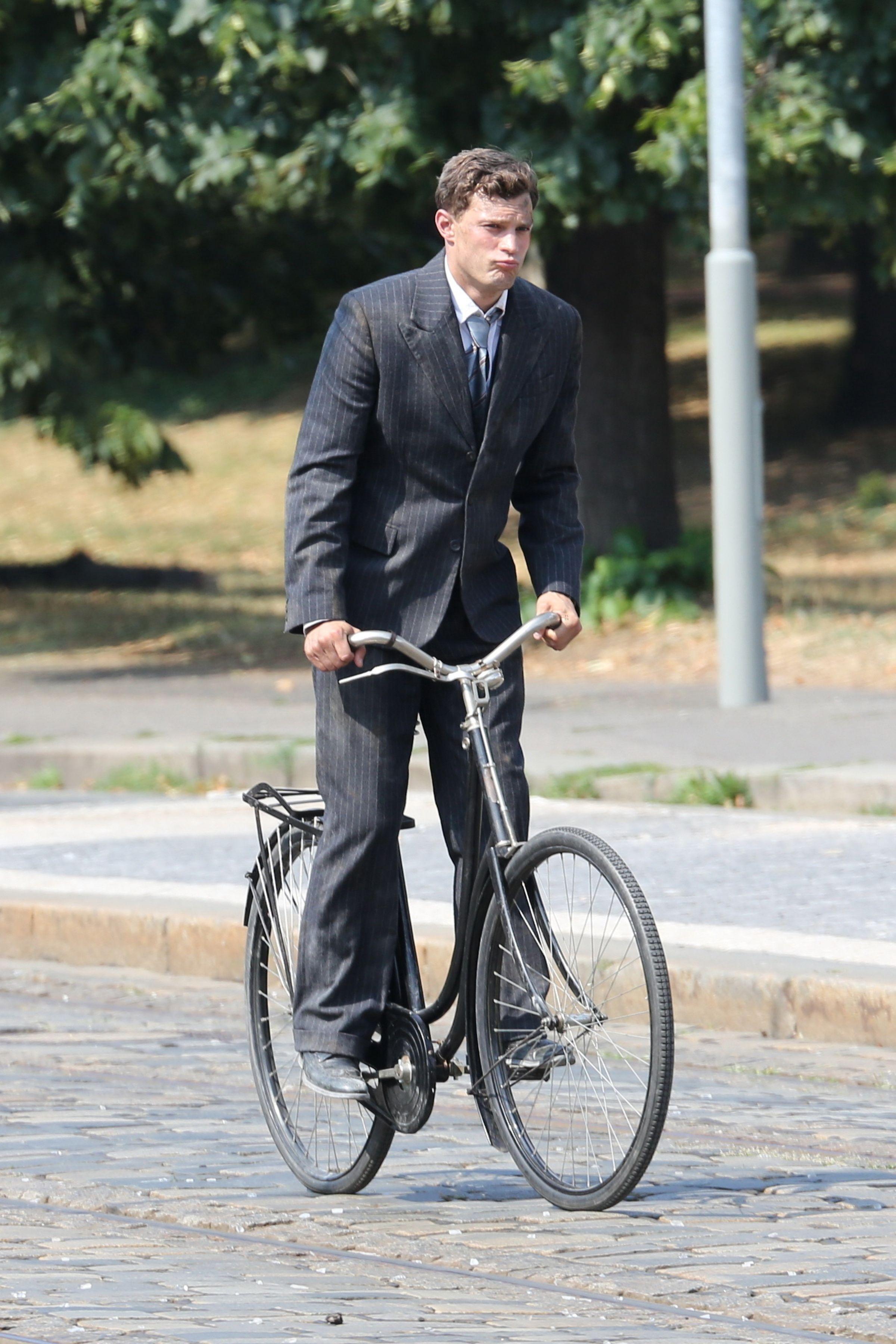 Jamie Dornan on Set of ANTHROPOID - 3 Aug - Trailer Online Scenes Set 2017 -