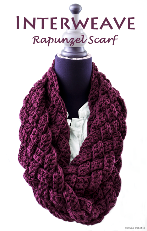 Rapunzel Scarf free crochet pattern | Crochet to wear | Pinterest ...