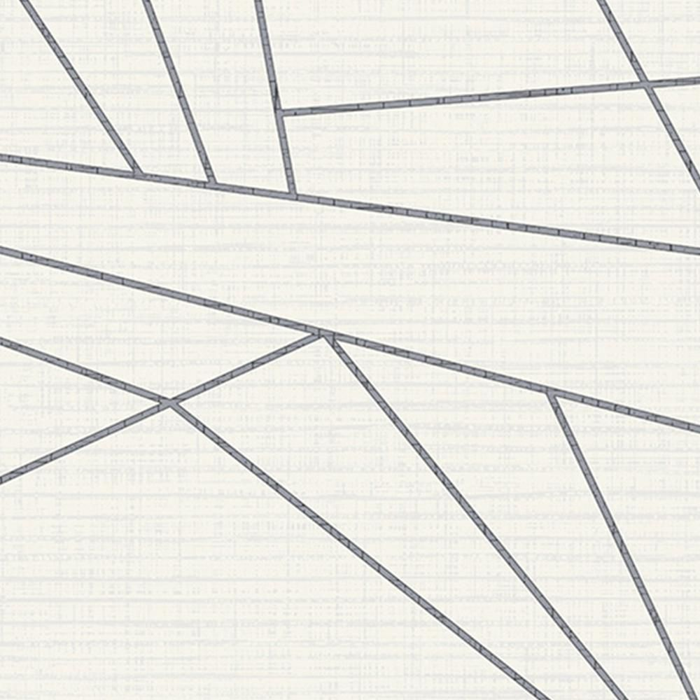 Walls Republic Sharp Geometry White Paper Strippable Roll Covers 57 Sq Ft R6317 The Home Depot Geometric Wallpaper Wallpaper Roll Wallpaper