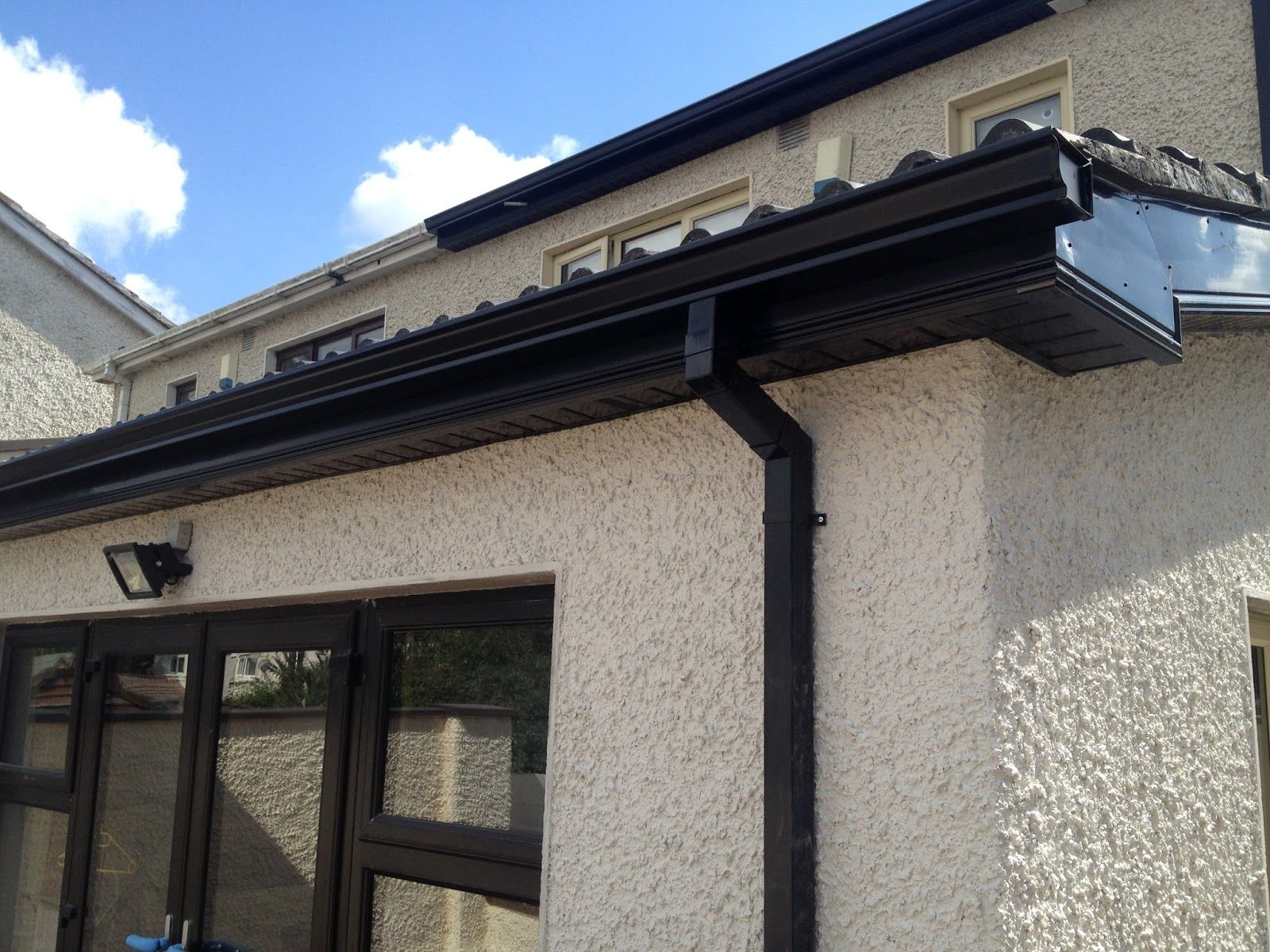 Best Image Result For Black Gutters On House Seamless Gutters 400 x 300