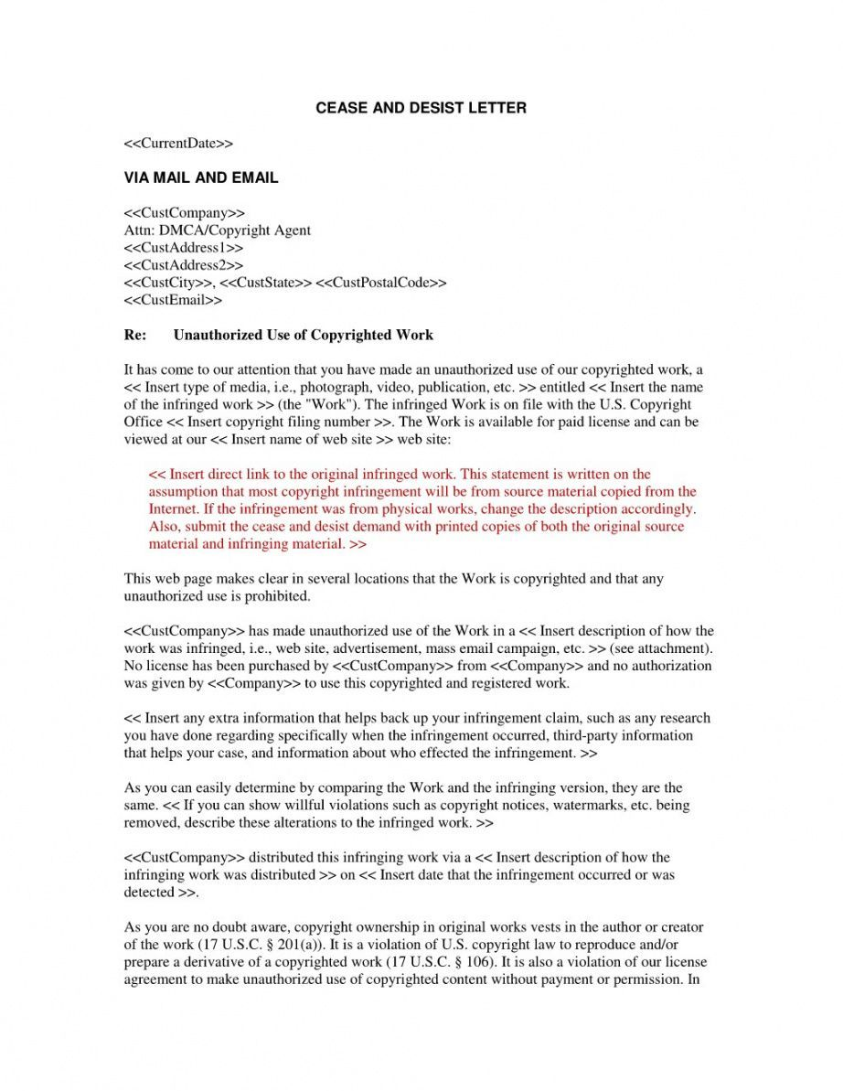 Editable Attorney Cease And Desist Letter Template Sample In 2021 Letter Templates Lettering Cease And Desist Sample appeal letter for unemployment benefits