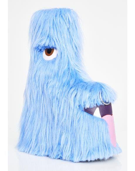 Kooky Monster Fuzzy Platforms #dollskill #currentmood