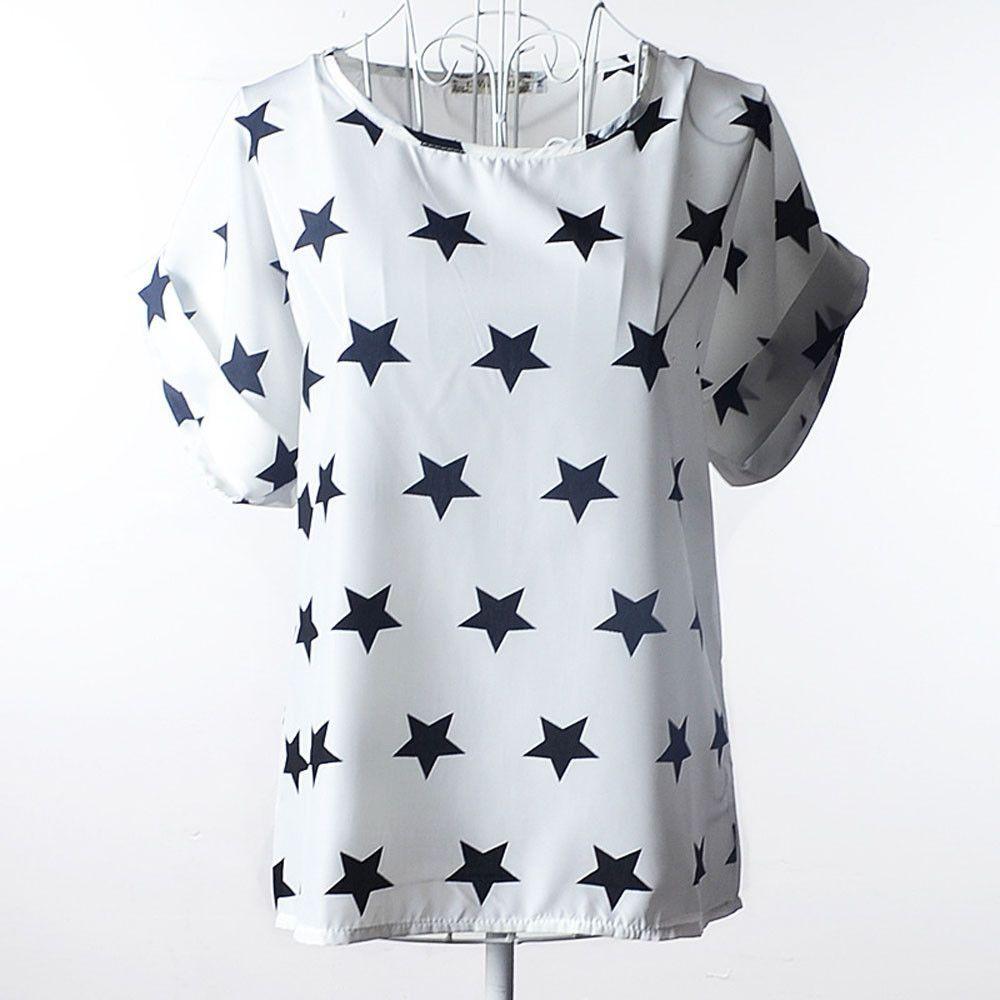 T Shirts Loose short-sleeved