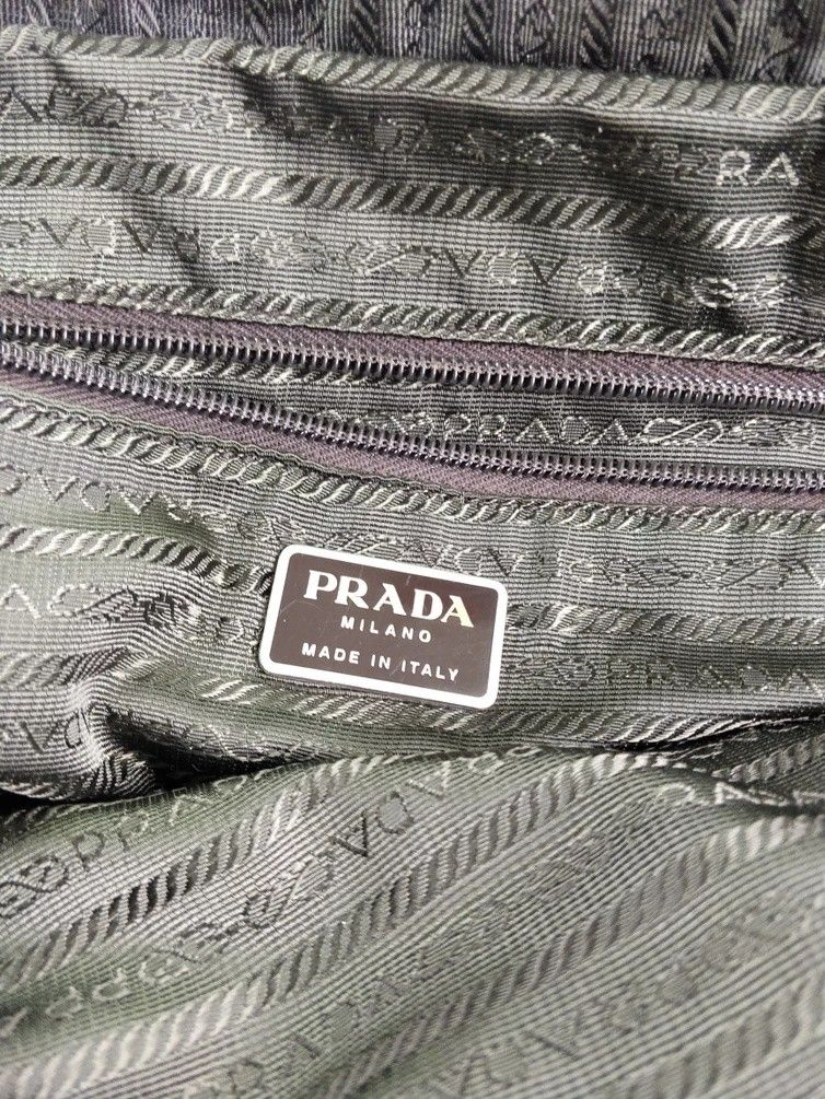 Photo of Prada #960 Prada Handbag Shoulder Bag Tote Bag W Cert Card Size One Size $252