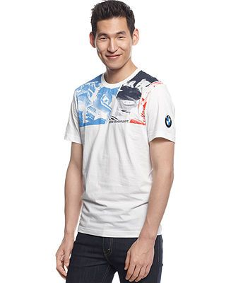 63d8c7b53f49 Puma BMW Graphic T-Shirt - T-Shirts - Men - Macy s