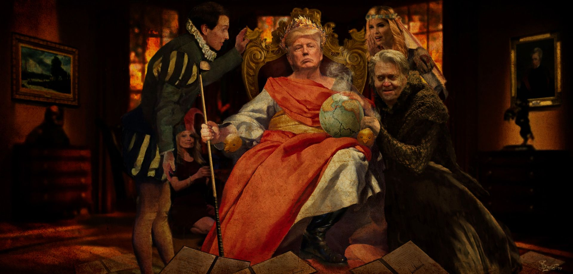 The Madness Of King Donald This Or That Questions Donald Time Magazine