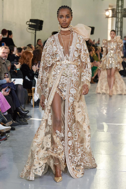 Elie Saab Spring 2020 Couture Collection Vogue Elie Saab Couture Couture Fashion Elie Saab Spring