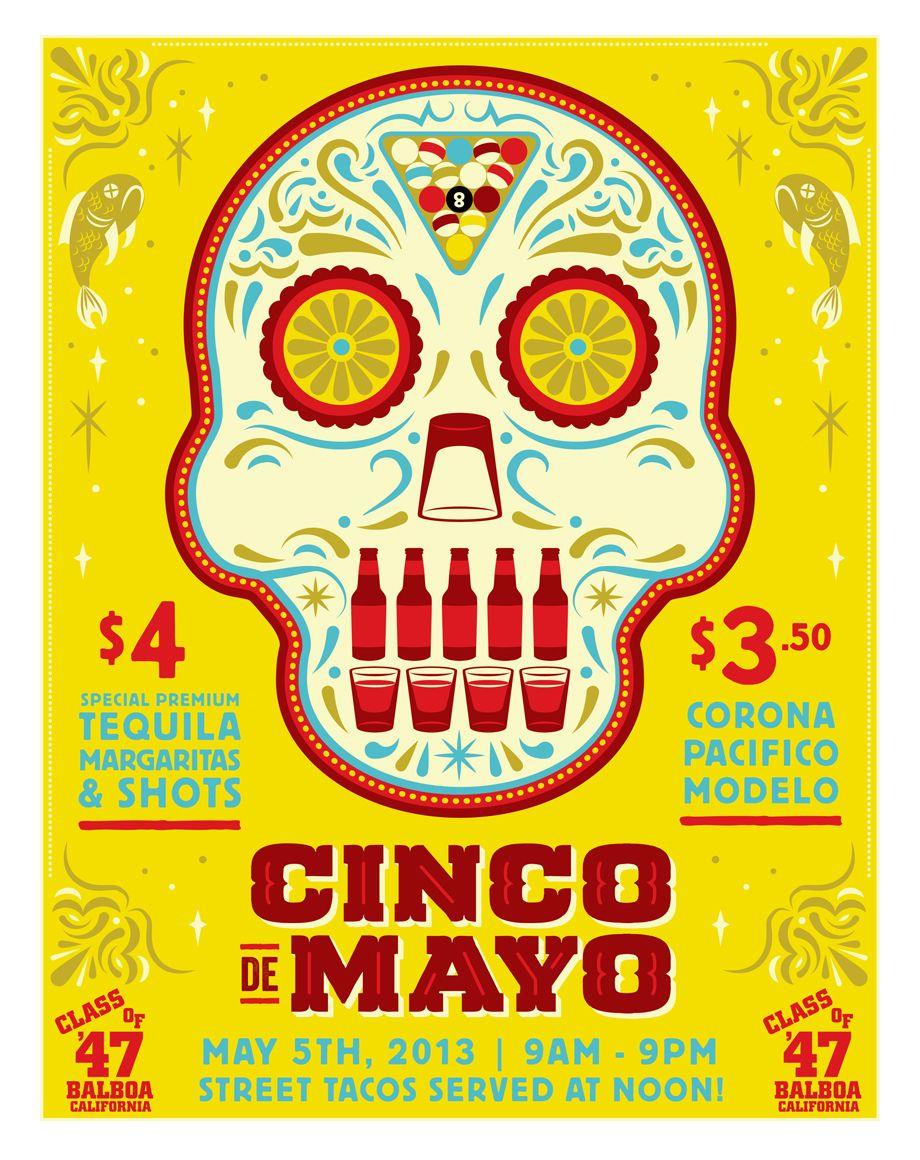 Cinco De Mayo Logo Free Large Images Poster Design Cinco De Mayo Specials Graphic Design Course