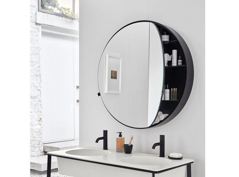 Cielo Mirror I Catini Round Box Mirror Caspct Ebay