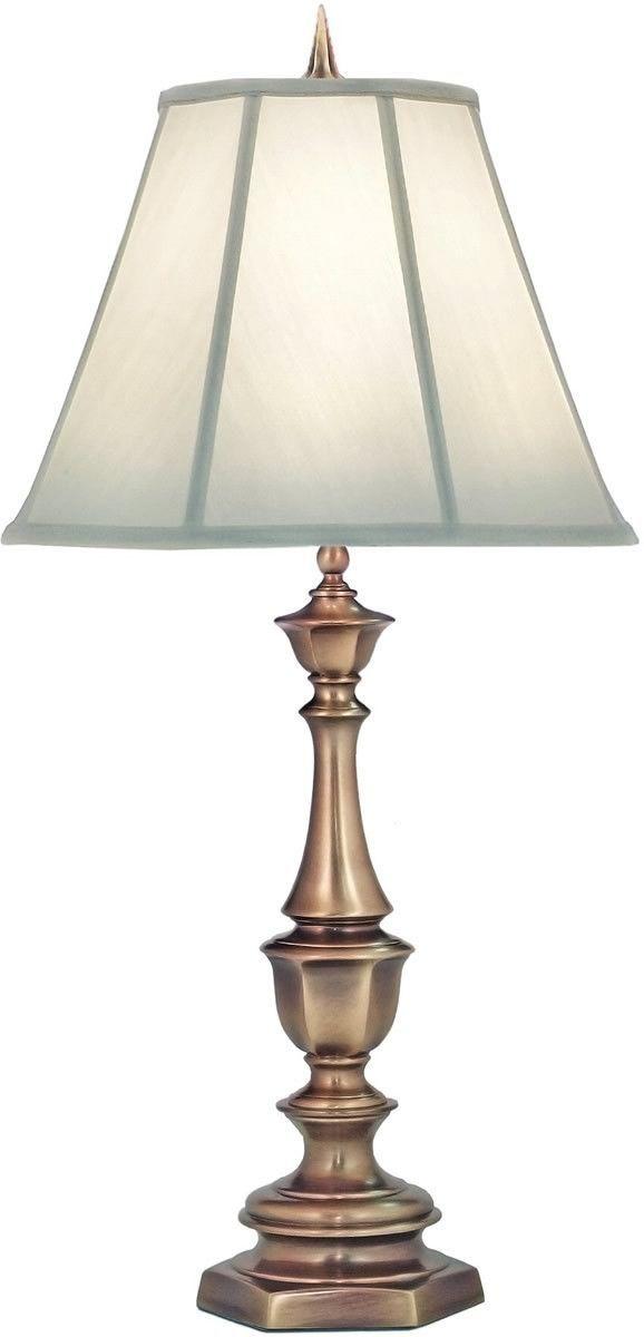 33 Inchh Genuine Stiffel 3 Way Table Lamp Antique Brass Urunler