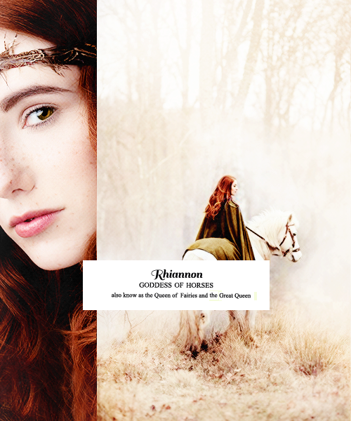 RHIANNON: She played a number of roles familiar to Celtic mythology: the…