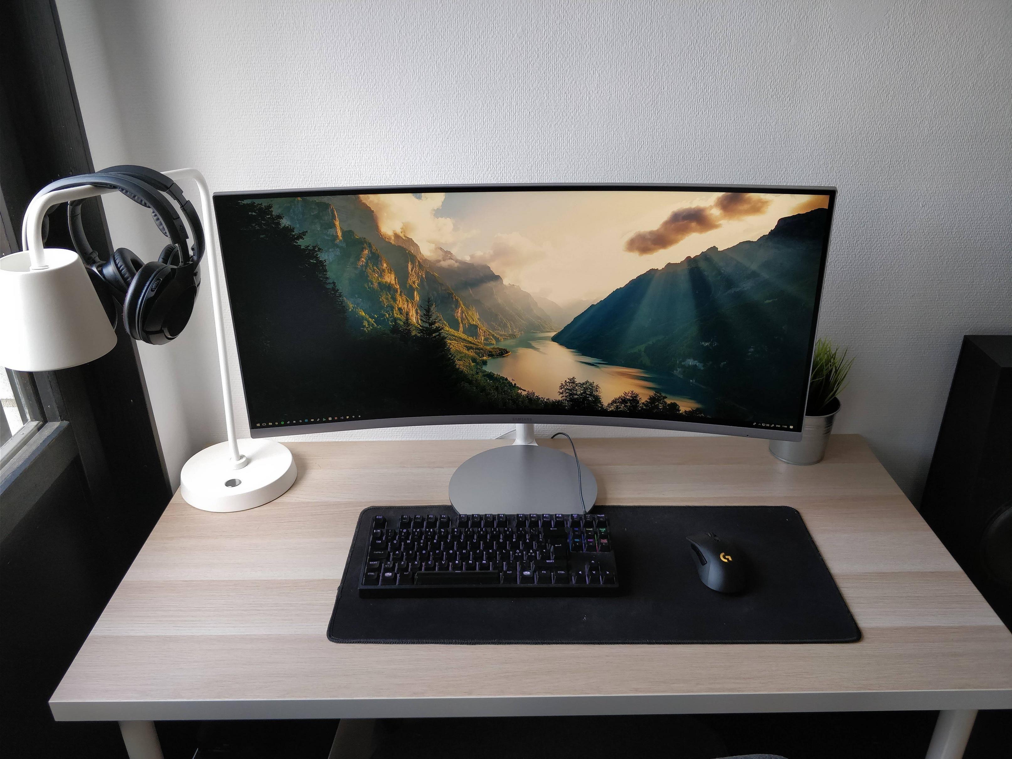 Simple Ultrawide Setup Bureau De Jeu Configuration Ordinateur