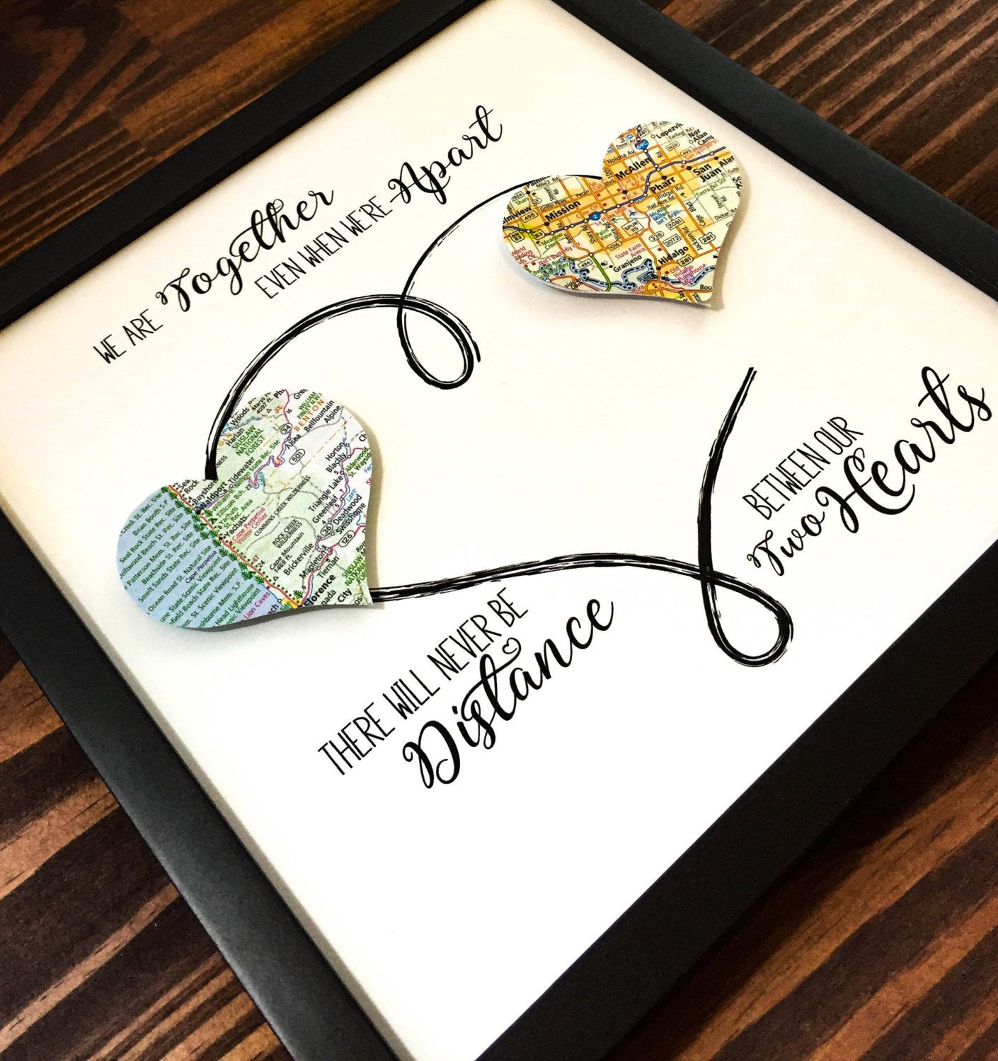 Personalized Best Friend Gift, Going Away Gift, Long