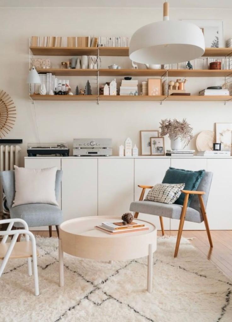 Salon cosy : idée déco pour un salon chaleureux et lumineux | Morgane