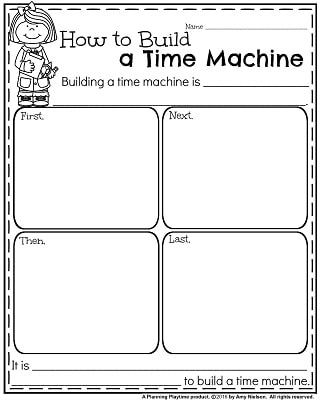 January Writing Prompts  Informative Writing Prompts  Writing  January Writing Prompts  How To Build A Time Machine Informative Writing  Prompt