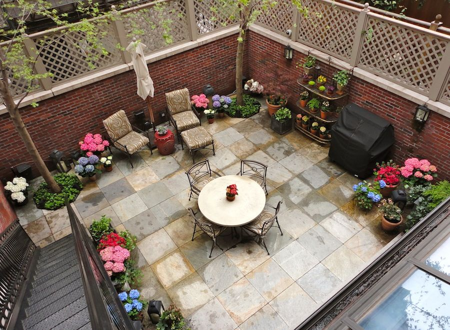 gardens by Robert Urban - townhouse backyard spaces ... on Townhouse Patio Ideas id=84498