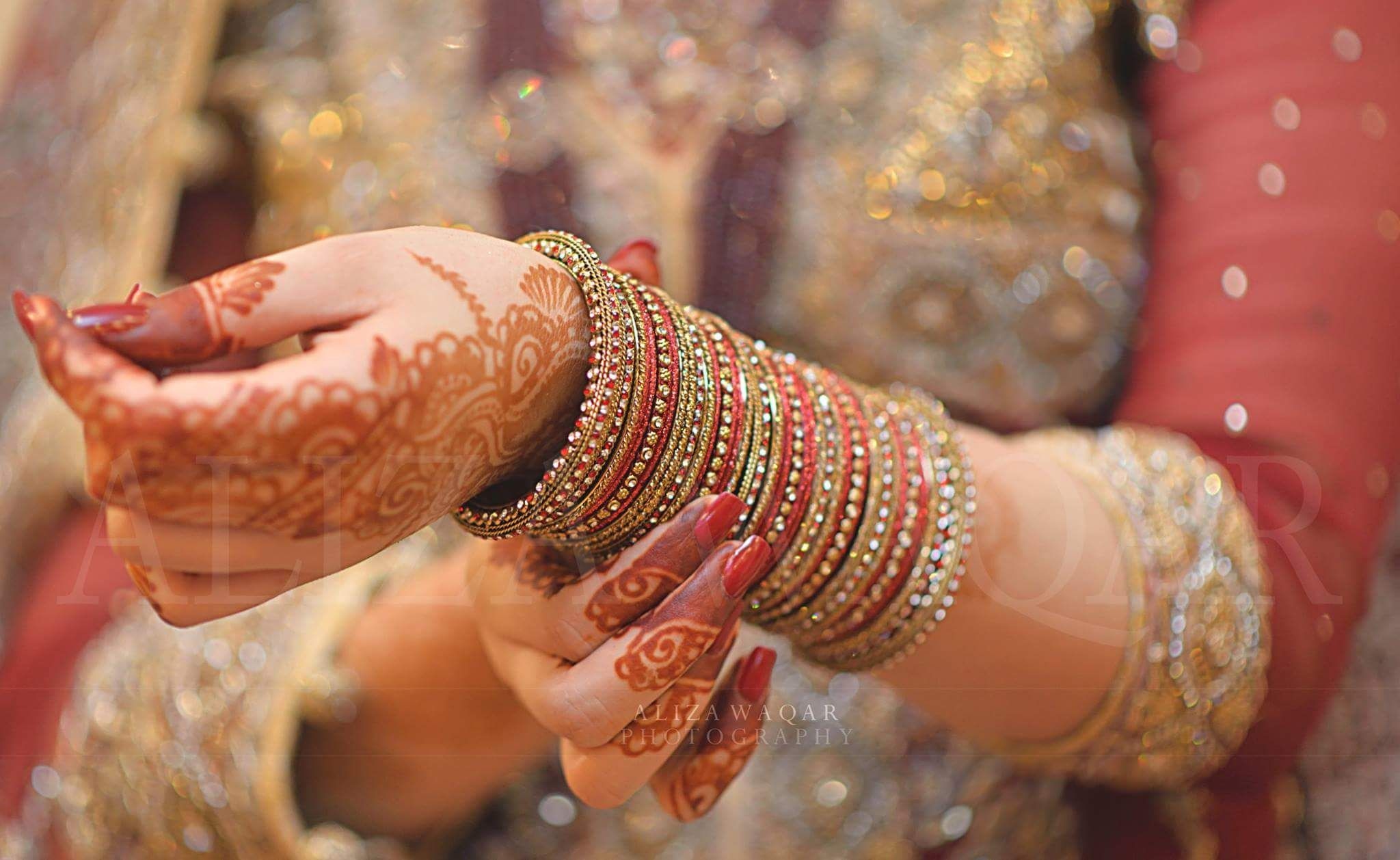 Photography by Aliza waqar | Bangles, bracelet, chora, Kara | Bridal
