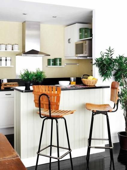 Prácticas cocinas con barra Future and Room - cocinas con barra