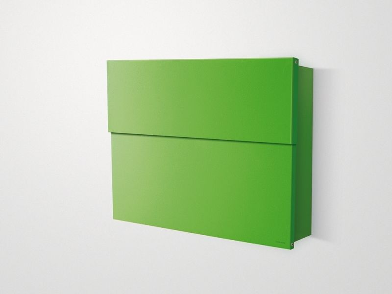 Briefkasten Lettermann radius design briefkasten letterman 2 grün