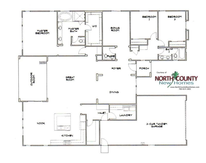Heritage Collection At Canyon Grove Floor Plans North County New Homes Floor Plans How To Plan Castle Plans