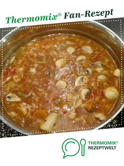 Pekingsuppe wie beim Chinamann #chinesemeals