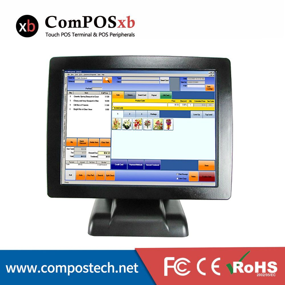 Free Shipping 15 Inch Point Of Sale All In One Pos Terminal Pos System Touch Screen Pos System Terminal Pos2120 Computer Computer Peripherals All In One Pc