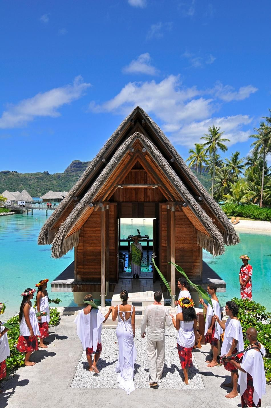 Overwater Wedding Chapel Bora Call Nikki At Travel Vision 1 405 334 6330 To Plan Your Destination In