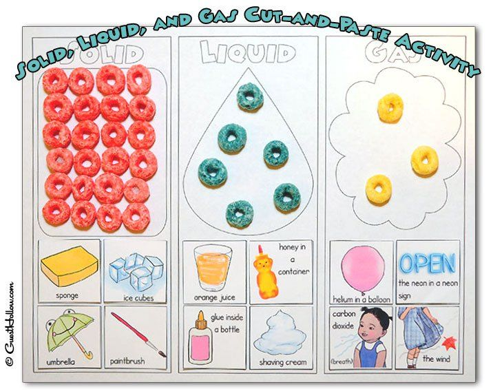 States Of Matter Solid Liquid Gas Free Preschool Activity Worksheets For Children Preschool Science Matter Worksheets Preschool Science Science Worksheets