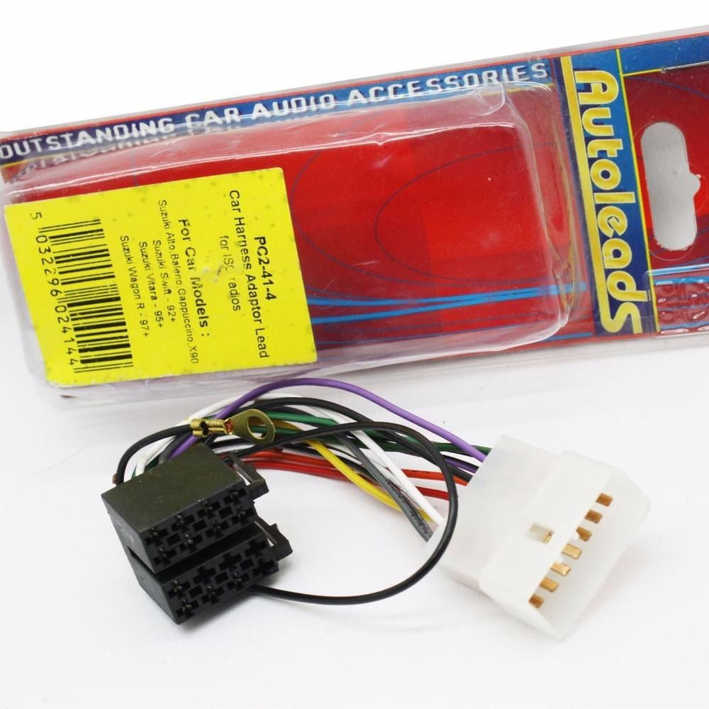 hight resolution of autoleads pc2 41 4 suzuki vitara swift car iso wiring harness adaptor lead autoleads
