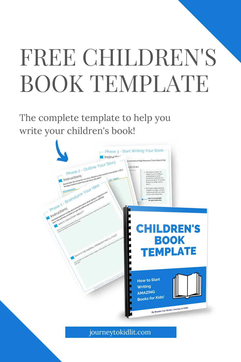 How To Write A Children S Book Free Template Download Book Writing Tips Writing Kids Books Writing Childrens Books
