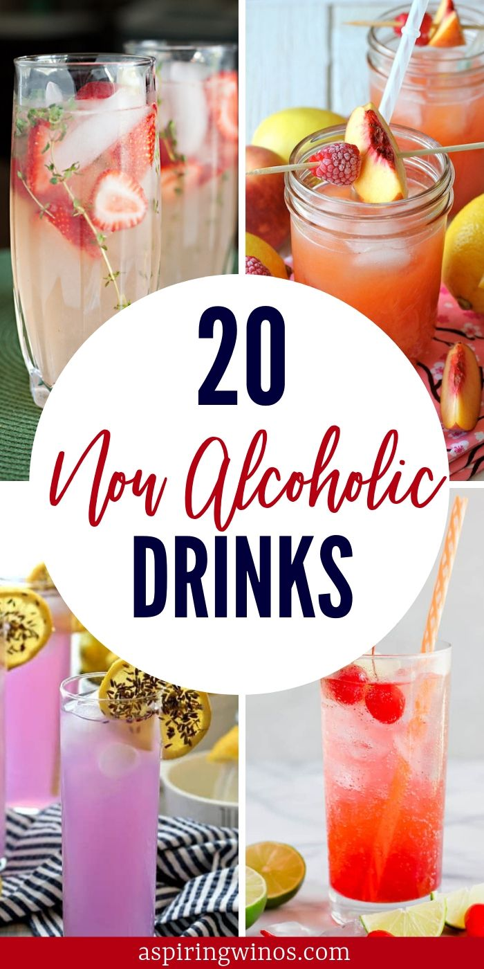20 Non Alcoholic Drink Recipes