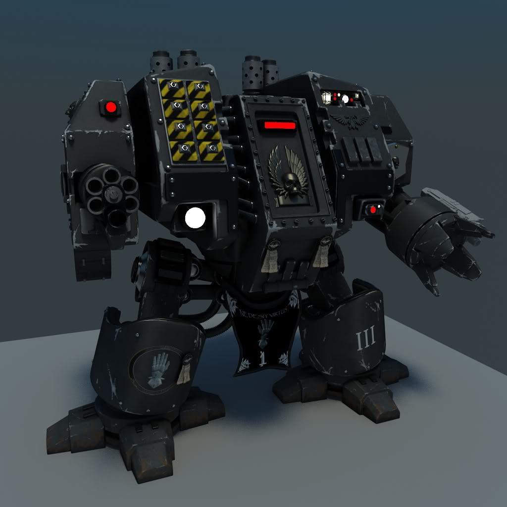Some of my 3D models - Forum - DakkaDakka   Anything but a one