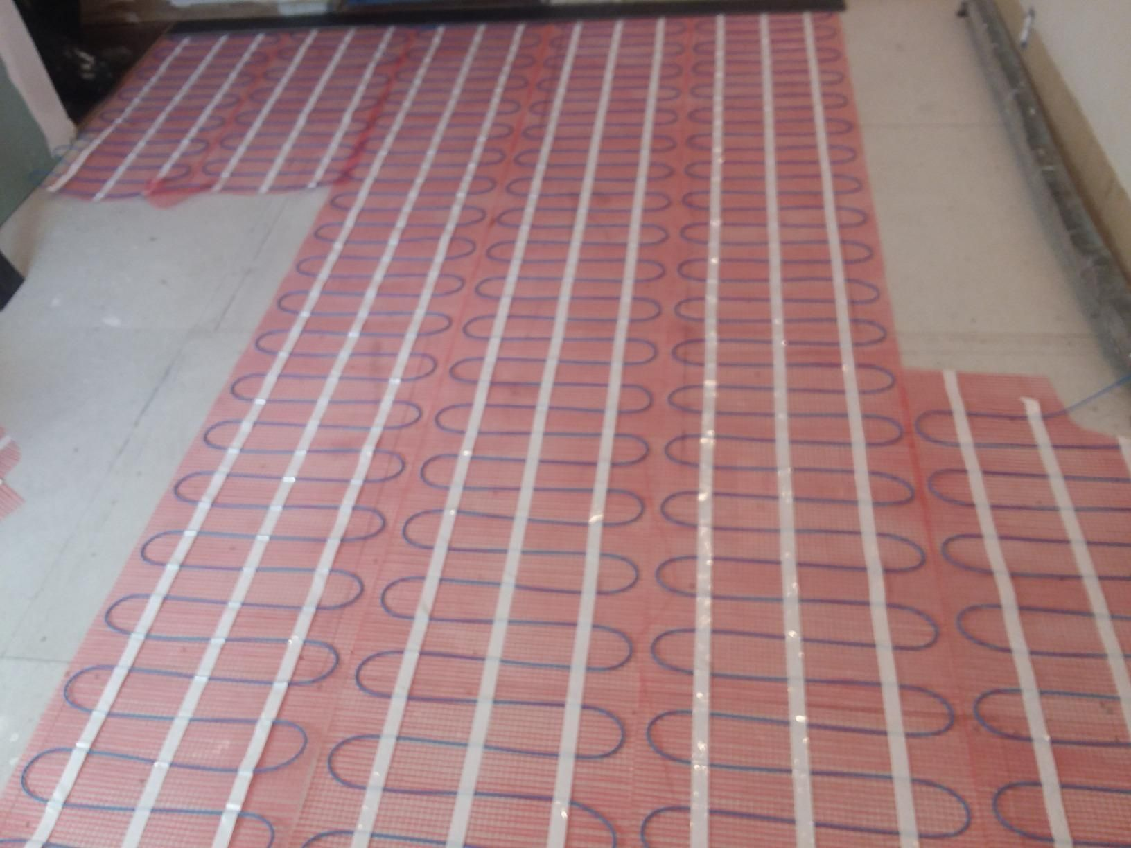 Heating Cable Is Spaced At 3 Apart For Optimal Heat Distribution Radiant Floor Heating Flooring Radiant Heating System