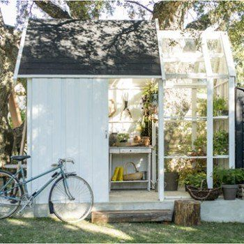 Abri de jardin bois Serre vertigo, 5.91 m² Ep.28 mm | Leroy Merlin ...