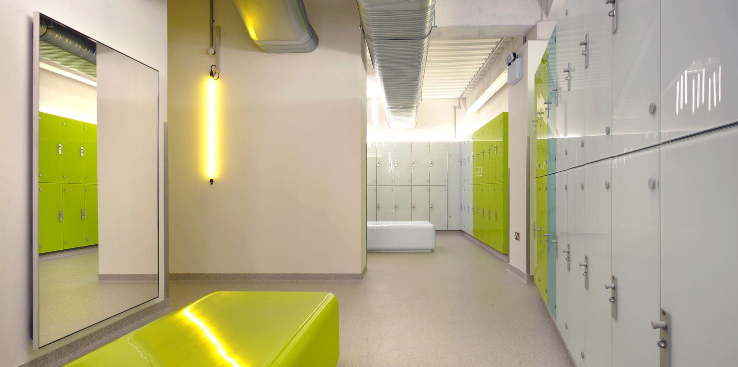 Gymbox Farringdon Leisure Bkd Farringdon Commercial Design Changing Room