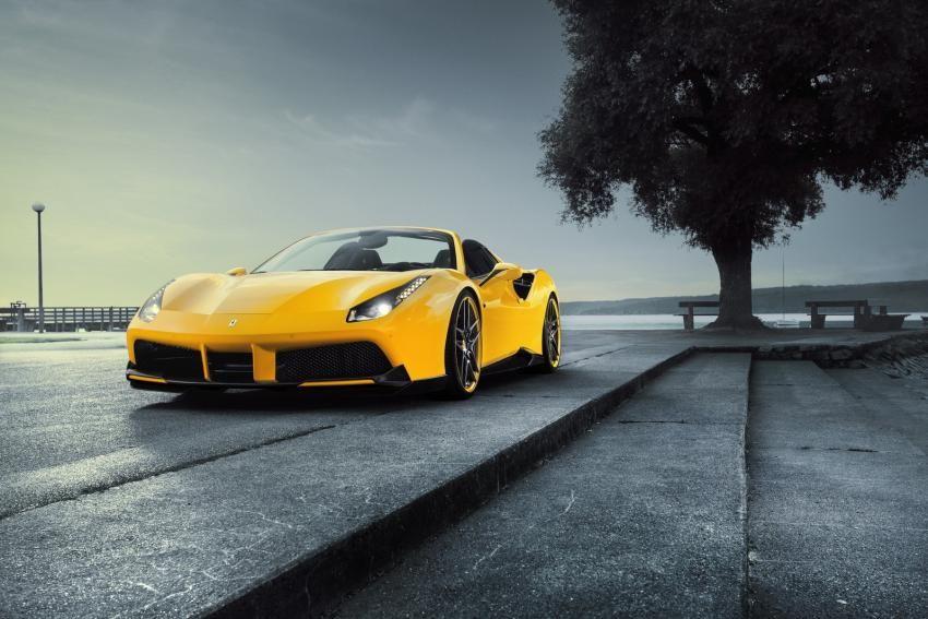 Novitec Rosso Tunes Ferrari 488 Spider To 772 HP http://goo.gl/78Zxhp