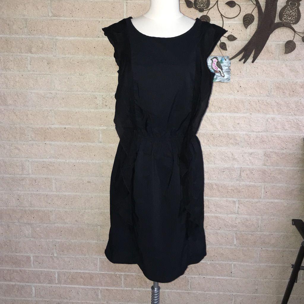 Gap black ruffled dress ruffle dress and products
