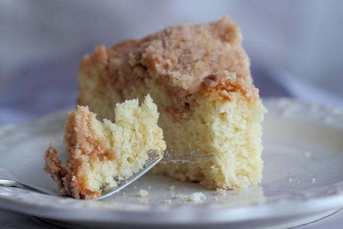Streusel Crumb Sour Cream Coffee Cake Recipe In 2020 Sour Cream Coffee Cake Coffee Cake Breakfast Cake