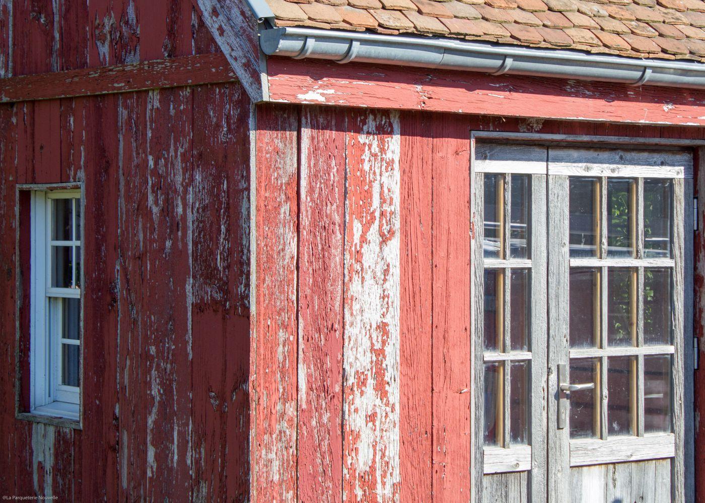 bardage vieux bois bardage bois us rouge soutenu peinture d 39 origine bardage vieux bois et. Black Bedroom Furniture Sets. Home Design Ideas