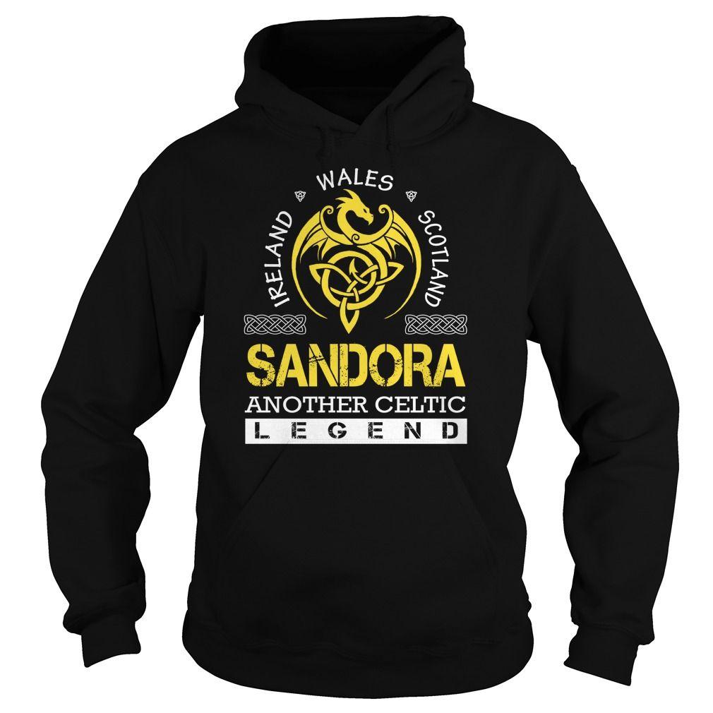 SANDORA Legend - SANDORA Last Name, Surname T-Shirt