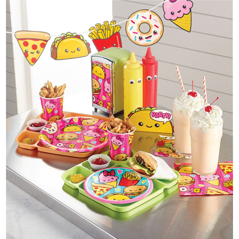 Bulk Food Love Party Supplies Kids Birthday Themes
