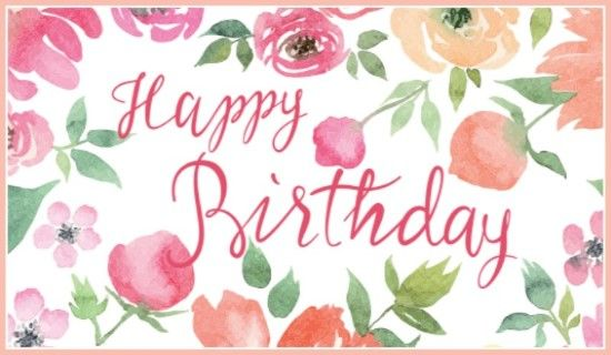 Happy Birthday *!☄Birthday!Party☄!* Pinterest Happy - sample happy birthday email