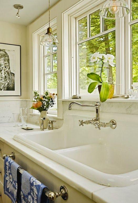 Classic White Farmhouse Sink I Think I Like This Farm Sink Better
