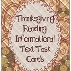 This pack includes 20 Non-Fiction Reading Task Cards! Each card has a paragraph, graphic organizer, and/or image from Wikipedia's Simplified Englis...