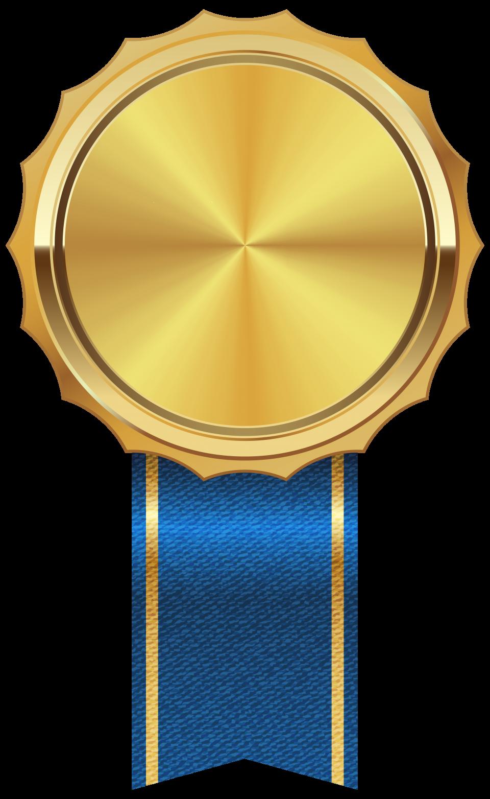 Gold Medal Png Image Bingkai Bingkai Foto Desain Grafis