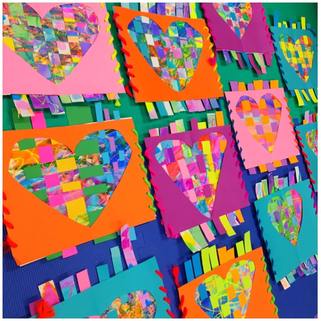 Excited To Share The Love With These First Grade Woven And