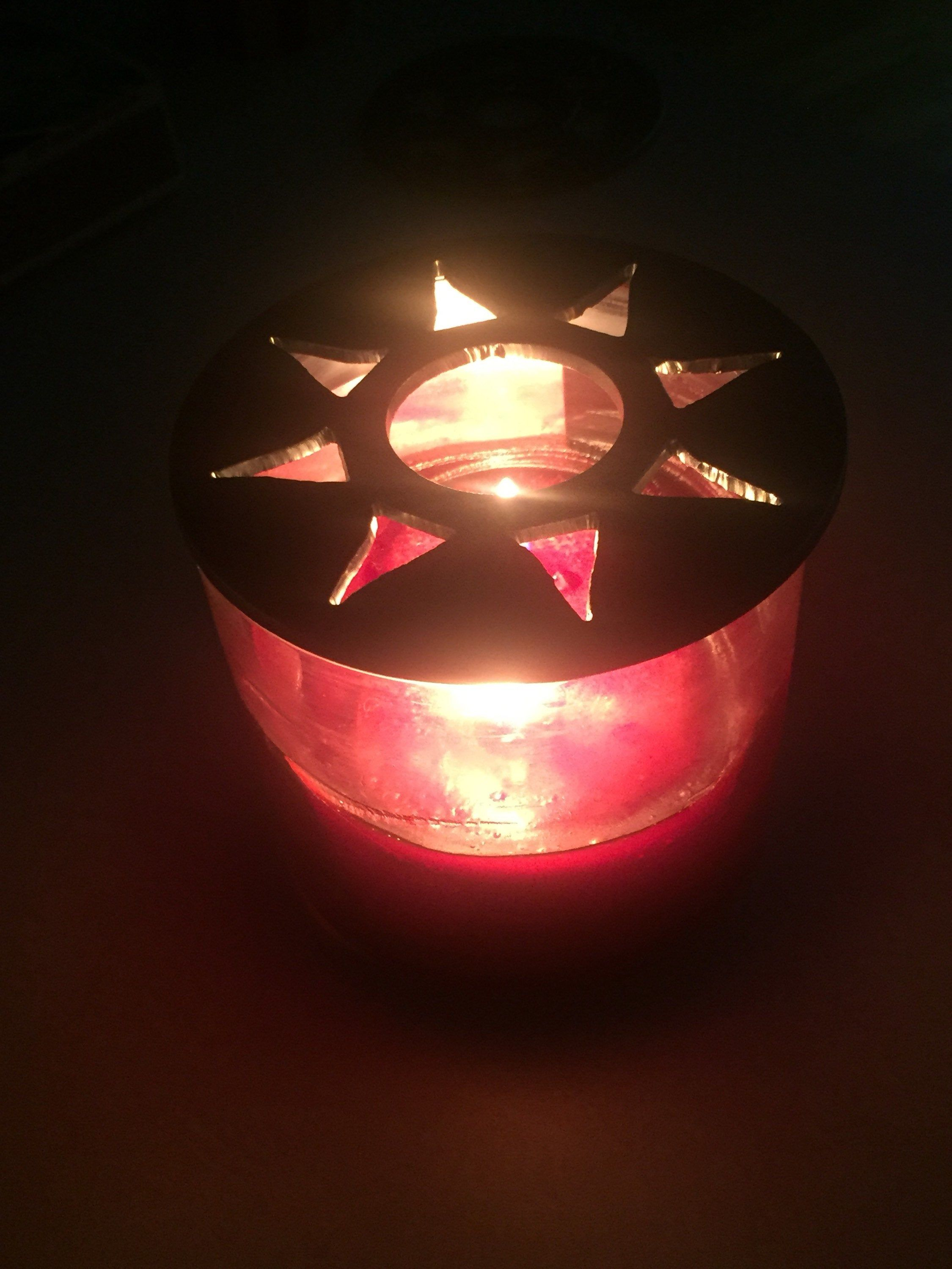 Help Melt your Candle Evenly! AND Looks Great Moon and