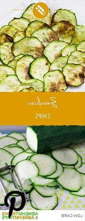 ZucchiniChips  der gesunde und leckere Low Carb Snack ZucchiniChips  der gesunde und leckere Low Carb Snack