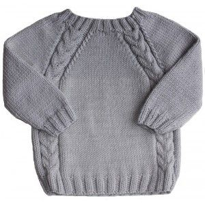 modele tricot pull fillette